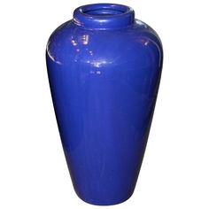 Large Vintage California Pacific Pottery Oil Jar Garden Urn Vase   From a unique collection of antique and modern urns at https://www.1stdibs.com/furniture/building-garden/urns/