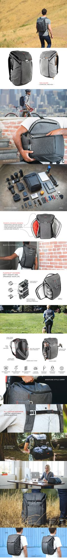 8009603b35 Peak Design is raising funds for The Everyday Backpack