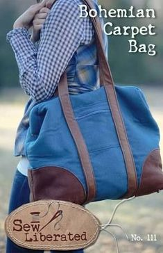 sewing pattern for weekend bag - Google Search