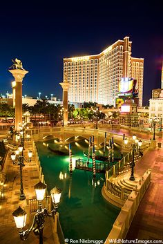 Venetian Hotel, Las Vegas, NV. <~We had a quick romantic mini vacay here. LOVED our room! Will be back!