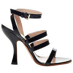 VIVIENNE WESTWOOD Vivienne Westwood Womens 9013W08Nr Black Patent Leather Sandals. #viviennewestwood #shoes #shoes