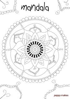 Poppy Makes… a colouring page. This colouring page you can download for FREE in PDF format on my blog. Don't forget to checkout my other colouring pages as well. All colouring pages are designed and made by me. Have fun!    #PoppyMakes #Mandala #Zentangle #Colouring #Page #Colouringpage #Kleurplaat #FREE #Download #GRATIS #PDF #Printable #Printables #DIY #Hand #Handlettering #Lettering