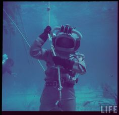 Behind the scenes, on Walt Disney's 1958 motion picture, 20,000 LEAGUES UNDER THE SEA.