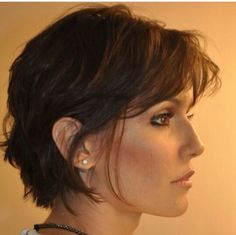 42 ideas drawing hair cute pixie cuts for 2019 Cute Hairstyles For Short Hair, Short Hair Cuts, Pixie Cuts, Wavy Hair, New Hair, Medium Hair Styles, Short Hair Styles, Pinterest Hair, Hair 2018