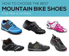 20 BEST SHOES   Spring will be here soon! The right pair of shoes goes a long way towards ideal MTB control & comfort:
