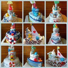sailboat diaper cake instructions - Buscar con Google