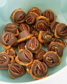 Rolo Turtles -- 30+ Delicious Holiday Recipes from the Readers.com Family. Dig in!