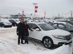 Congratulations Terry on the purchase of your 2013 Honda Crosstour Touring! Great car for a great lady!