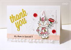 母の日カード by:sacco #カード