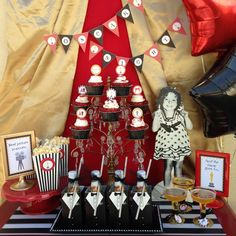 Oscars Movie Night Party Ideas | Photo 2 of 11 | Catch My Party