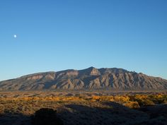 One of the most awe-inspiring sites I have ever seen:  The Sandia Mountains in Rio Rancho, NM.  I almost lived there.
