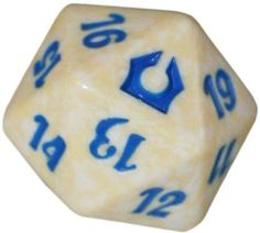Return to Ravnica Azorius [White & Blue] Spindown Life Counter (MTG) - Memorabilia (Magic) - Magic: The Gathering Supplies - Magic: The Gathering