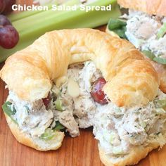 This Chicken Salad Spread is really the perfect go-to chicken salad for sandwiches or on top of a green salad. I love to roast chicken pieces ahead of time