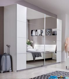 Designed for modern living 'SlumberHaus' bedroom furniture uses clean lines and inspires modern bedroom design ideas. Wardrobe Door Designs, Bedroom Decor, Furniture, Home, Bedroom Furniture, Modern Sliding Doors, Bedroom Design, Sliding Door Design, Modern Bedroom