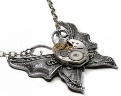Steampunk Necklace by ProfessorSprocket