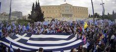 Νέο μεγάλο συλλαλητήριο στην πλατεία Συντάγματοςστην Αθήνα θα πραγματοποιηθείτην Κυριακή 8 Ιουλίου. Το νέοσυλλαλητήριο διοργανώνει η Επιτροπή για την Προστασία των Δικαιωμάτων των Βλαχόφωνων Ελλήνων που ζουν στα Σκόπια και για την Προάσπιση της Ελληνικότητας της Μακεδονίας. Με ανακοίνωσή της η Επιτροπή καλεί τους πολίτες να συμμετάσχουν προκειμένου να διατρανώσουμε την αδιαπραγμάτευτη ελληνικότητα της Μακεδονίας στέλνοντας το μήνυμα σε κάθε γωνιά της γης: η Μακεδονία είναι μία και είναι μόνο…