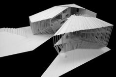 Primer Lugar Biblioteca y Centro Polivalente de Fuerteventura / Islas Canarias, España Architecture Collage, Architecture Models, Sumo, Canario, Opera House, Building, Travel, Diagram, Inspiration
