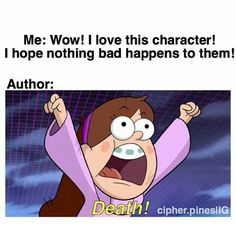 Discovered by Find images and videos about funny, lol and book on We Heart It - the app to get lost in what you love. Gravity Falls Anime, Gravity Falls Characters, Gravity Falls Funny, Funny Relatable Memes, Funny Jokes, Hilarious, Harry Potter Francais, I Love Books, My Books