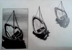 O segredo em observar para desenhar .. Feito com lápis 6B.