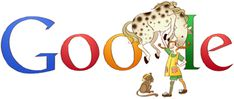 A Pippi Longstocking-themed Google Doodle. Crafted to honor the 65th Birthday of this weirdly wonderful Swedish girl.