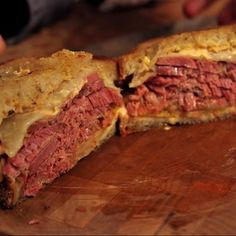 Make Wise Sons's recipe for this New York favorite, stuffed with corned beef, Russian dressing, swiss cheese, and sauerkraut.