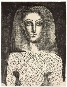 Pablo Picasso, 1949 Picasso, not the model well maybe