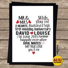 impressive 10th wedding anniversary gift ideas for couple 26 around ...