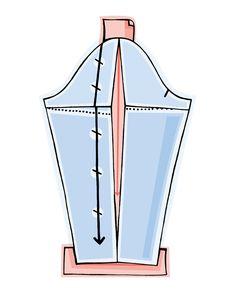 burda style, Kräftige Oberarme am Lieblingsschnitt - so geht es , Der Ärmel spannt? Einfach etwas Weite im oberen Bereich einfügen – wir zeigen, wie und wo genau! Egal ob Muskeln oder weibliche Rundungen, mit dieser Anleitung kann ein Schnitt passend für starke Oberarme professionell angepasst werden. Wie das gelingt zeigen wir unten in den Steps! Sewing Basics, Sewing For Beginners, Sewing Hacks, Sewing Crafts, Sewing Projects, Pattern Drafting, Pattern Making, Dressmaking, Sewing Patterns