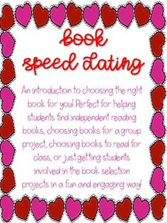 Free: Book Speed Dating High School Books, Middle School Ela, Book Tasting, First Year Of Marriage, Reading Projects, Independent Reading, Speed Dating, Teaching Reading, Presentation