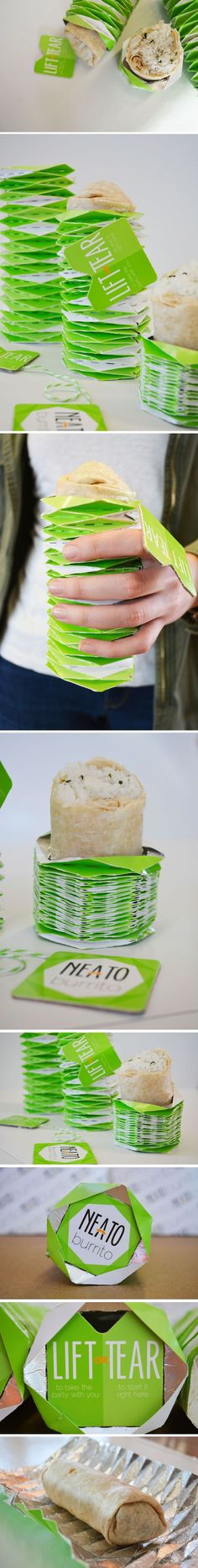 Neeto Burrito Student Packaging Concept
