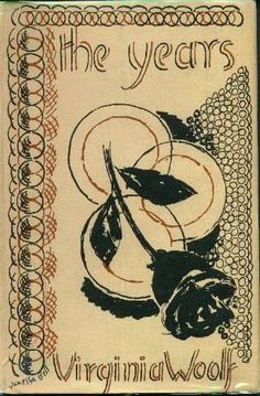 The Years  Dust Jackets Designed by Vanessa Bell