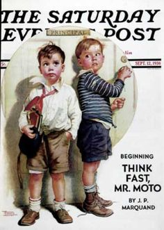 Saturday Evening Post - 1936-09-12: School Fight (Frances Tipton Hunter)