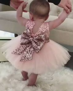 prettiest ball gown flower girl dresses, stunning rose gold sequined wedding party dresses Ball Gown Jewel Pink Tulle Flower Girl Dress with Lace Sequins Bowknot Flower Girls, Gold Flower Girl Dresses, Tulle Flower Girl, Tulle Flowers, Little Girl Dresses, Girls Dresses, Girls Party Dress, Rose Gold Wedding Dress, Baby Tutu Dresses