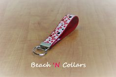 Red, White & Black Bows and Dots Fob/Wristlet Red, White & Black Bows and Dots Fob/Wristlet Red, White & Black Bows and Dots Fob/Wristlet Red, White & Black Bows and Dots Fob/Wristlet 🔎zoom  Request a custom order and have something made just for you. Item details 5 out of 5 stars.      (1) reviews Shipping & Policies This adorable red bows with black and red dots on white grosgrain ribbon is perfect for any occasion. You will find your keys in no time with this bright red key fob/wristlet…