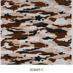 Hydro dipping film camouflage pattern ZC9207-1