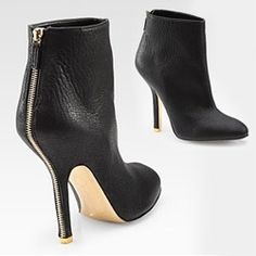 Stella McCartney Faux Leather Zip Ankle Boots