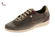 Myria A, Sneakers Basses Femme, Gris (DK Grey), 40 EUGeox