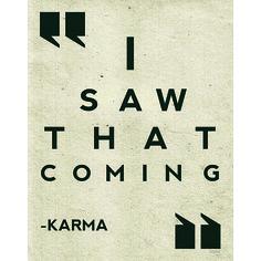 'Karma' Wall Art #opensky
