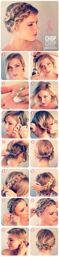 Up side braid