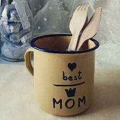 Taza vintage dia de la madre