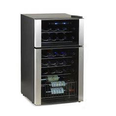 Wishing on a star.... 29-Bottle Evolution Series Dual Zone Wine Refrigerator - Wine Enthusiast