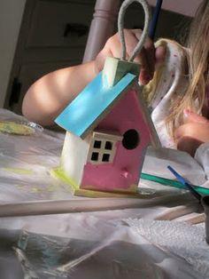 Kids Craft Idea!! la la by mona: Getting Crafty