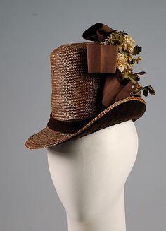 Hat, American  1884-86