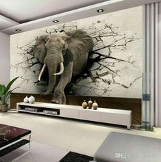 Custom Elephant Wandbild Personalisierte Giant Fototapete Innendekoration Wandbild Tierwelt Tapete Kinderzimmer Dekor Wandkunst - Decoration and Outfits World Wallpaper, Wall Art Wallpaper, Kids Room Wallpaper, Photo Wallpaper, Wallpaper Jungle, Dinosaur Wallpaper, Bedroom Wallpaper, Animal Wallpaper, 3d Wallpaper For Living Room