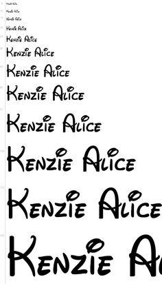 Free Fonts - Walt Disney font | UrbanFonts.com