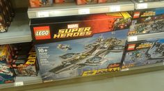 Lego marvel shiedld helicarrier  $350.00