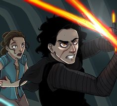 Reylo V WHAT IS GOING ON? OH MY GOSH WHO IS FIGHTING?<<<< Snoke or his new cronie