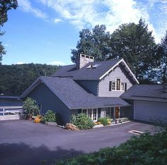 Curbside view of this Lake Zoar home.