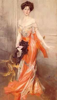 Portrait by Giovanni Boldini - 1905