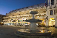 Italy, Veneto, Padova, Piazza delle Erbe